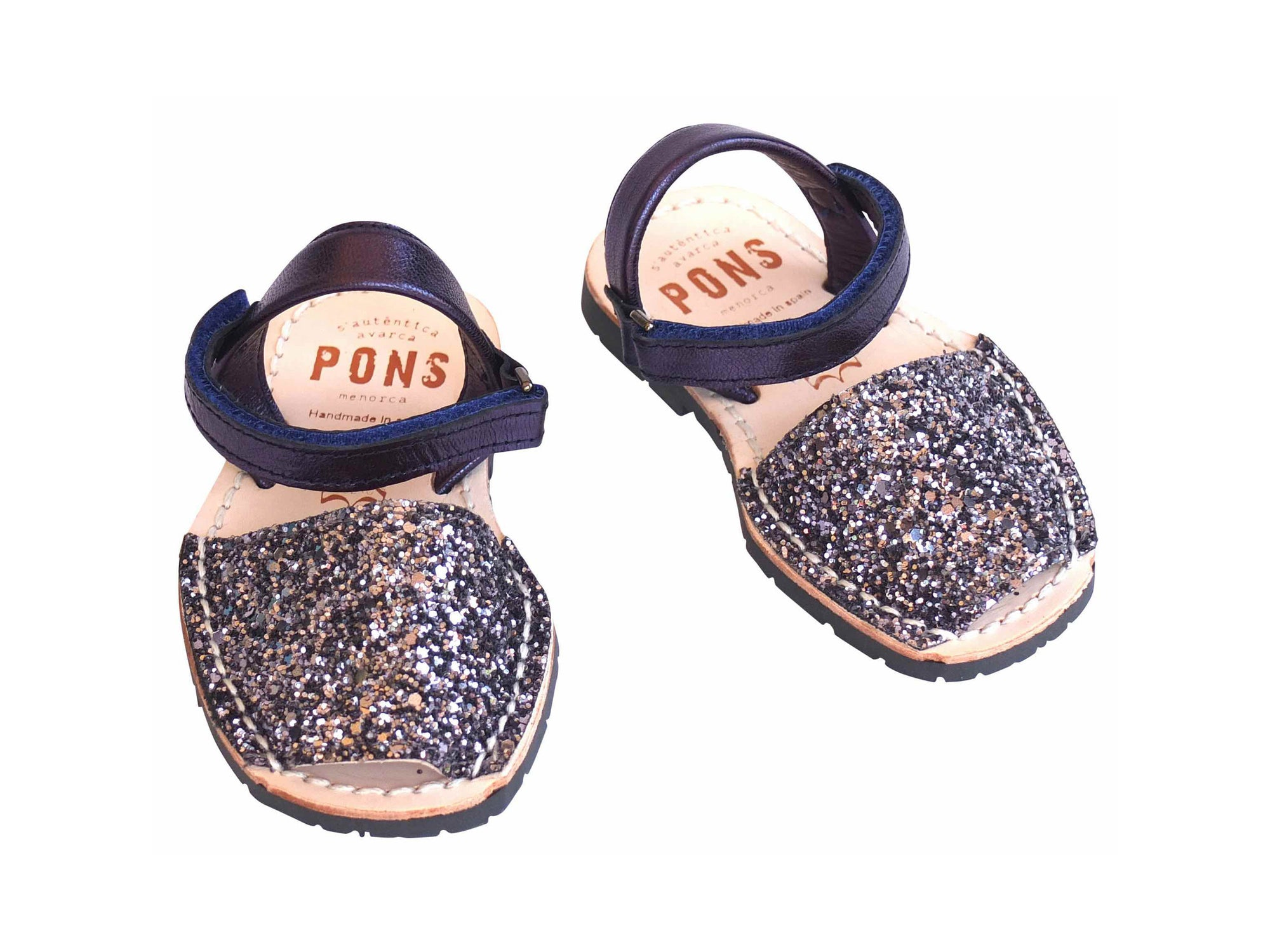 Toddler Pewter Glitter