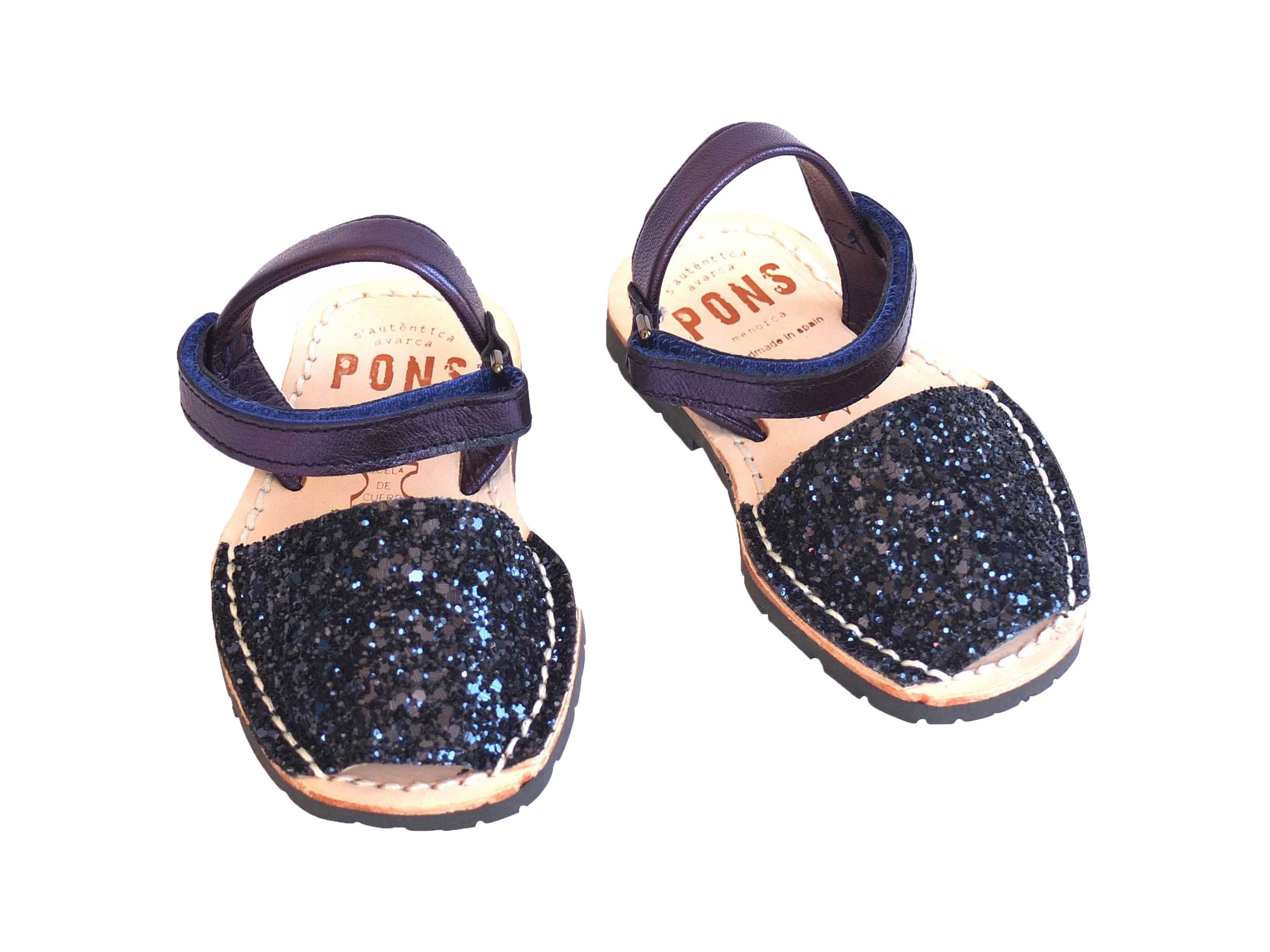 Toddler Navy Glitter