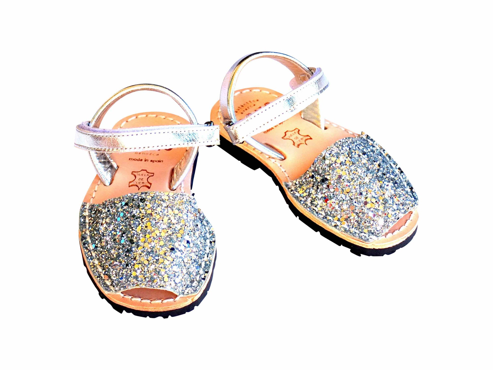 Pons Toddler Silver Glitter