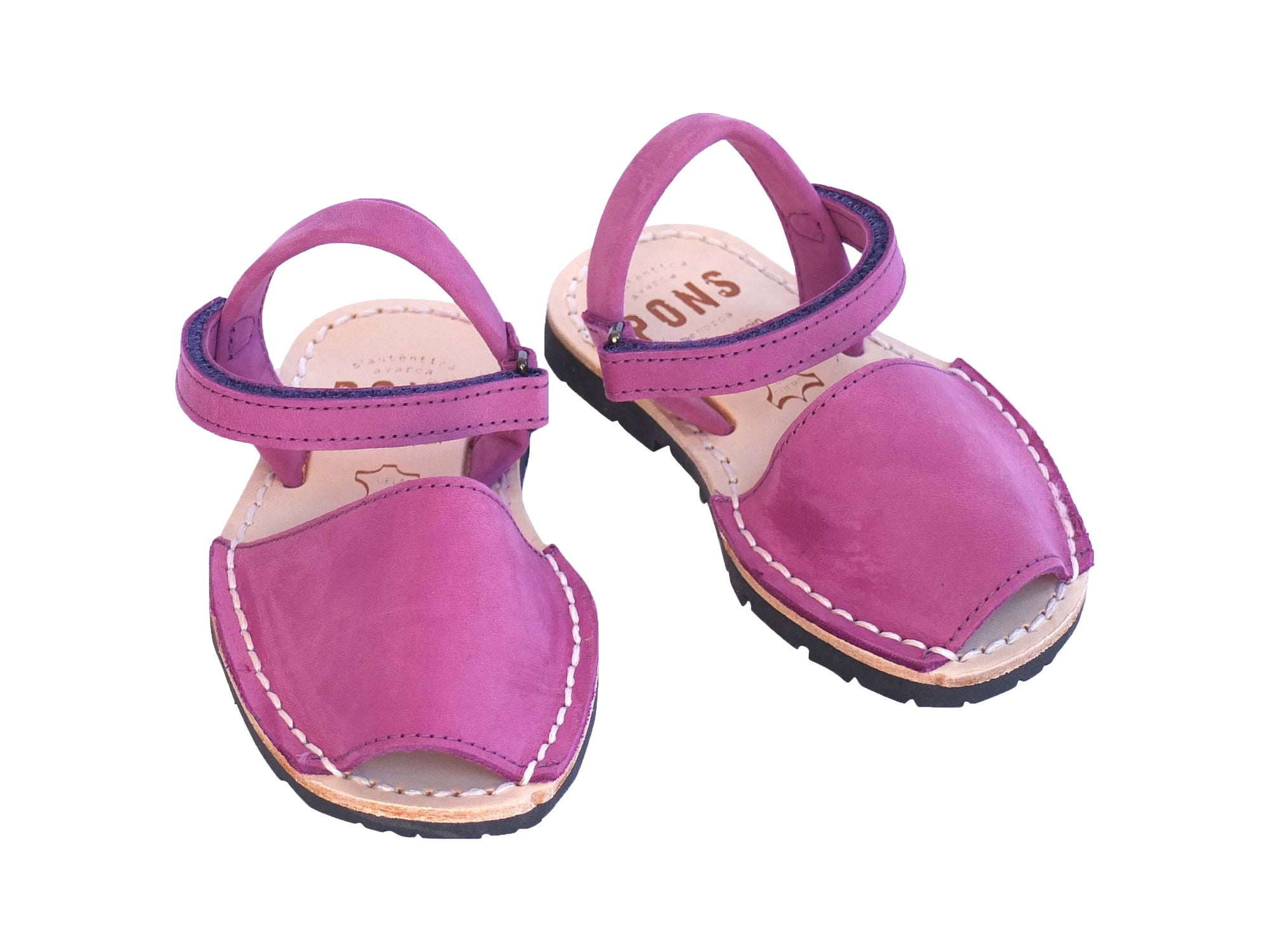 Toddler Fuchsia Nobuck Leather