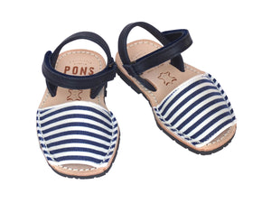 Toddler Blue & White Nautical Stripes