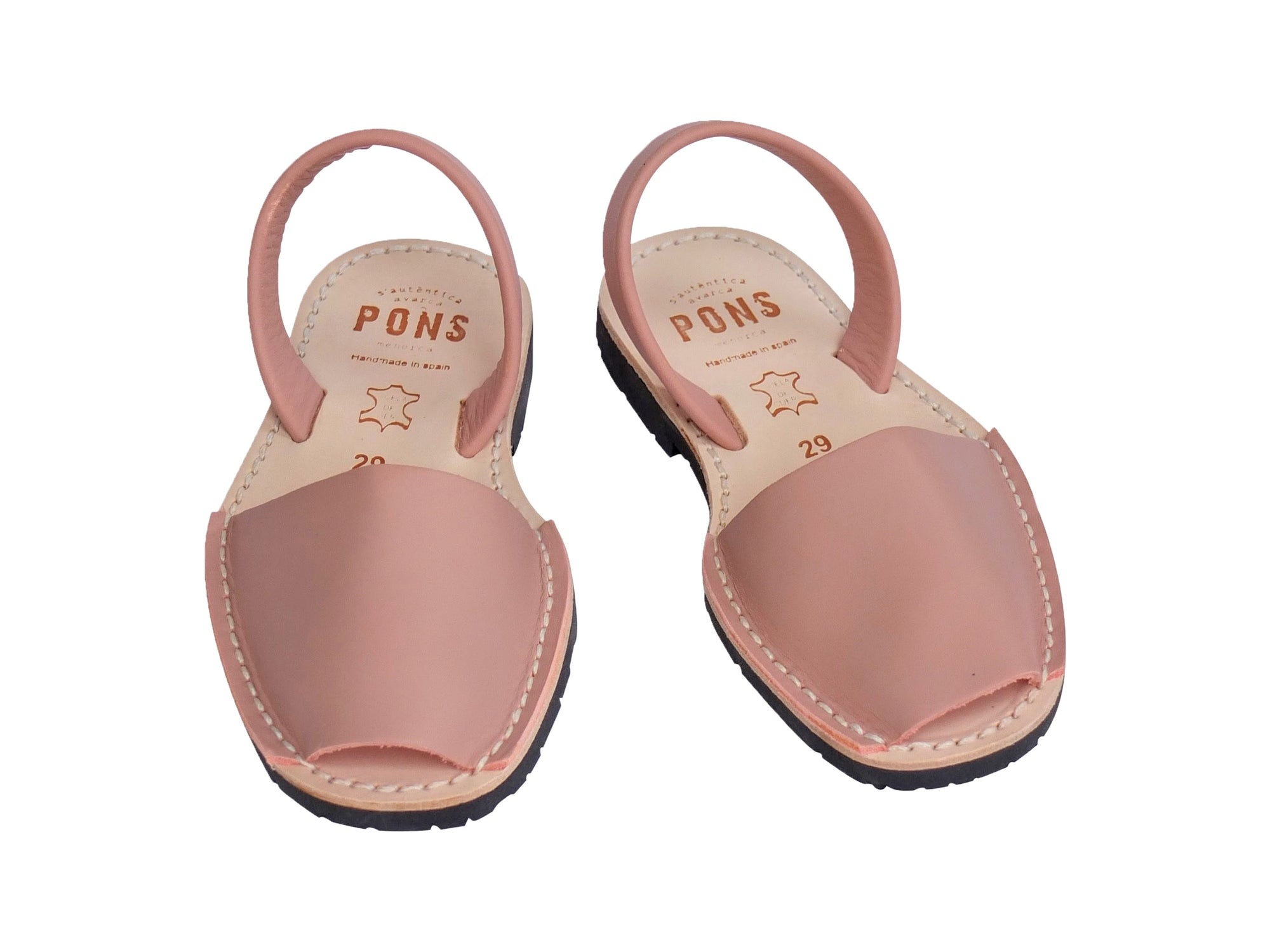 Girls Blush Pink Leather Classic