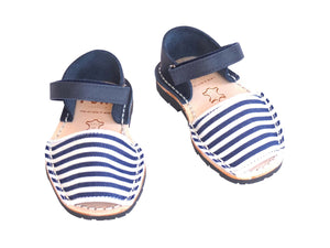 Toddler Unisex Blue & White Nautical Stripes
