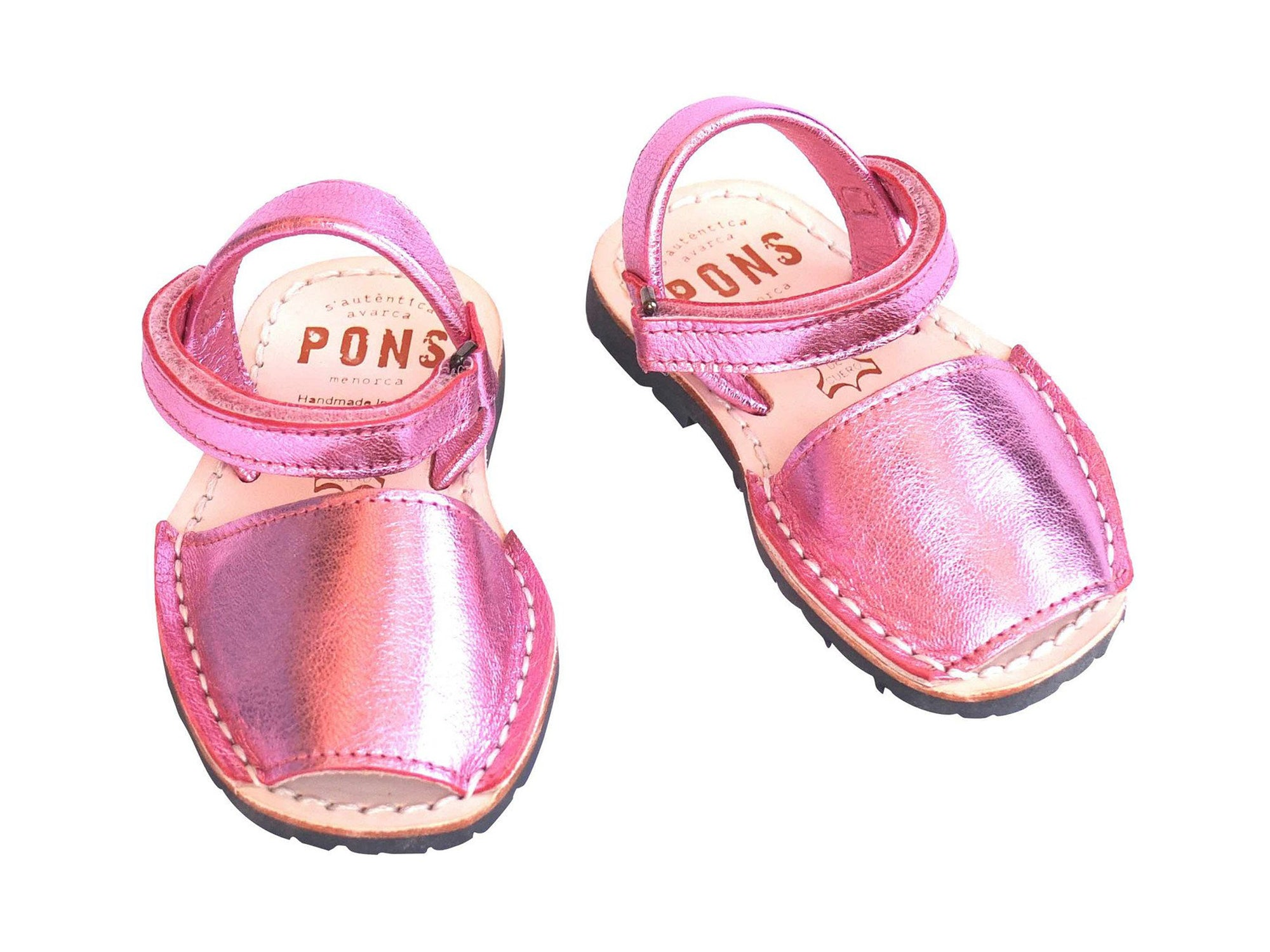 Toddler Metallic Pink Classic Avarcas