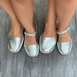 PONS Toddler Metallic Silver