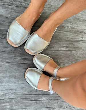 Toddler Metallic Silver