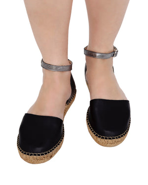 Midnight Pewter City Espadrille