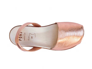 Rose Gold Classic Orthotic Avarca