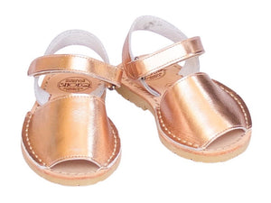 Toddler Rose Gold Metallic Avarca