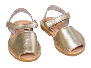 Girls Champagne - Ankle Strap