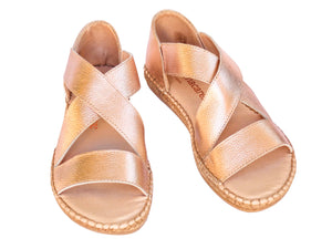 Rose Gold Beach Espadrille