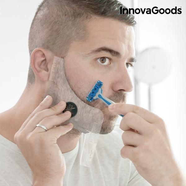 Moule pour Rasage de Barbe Hipster Barber InnovaGoods