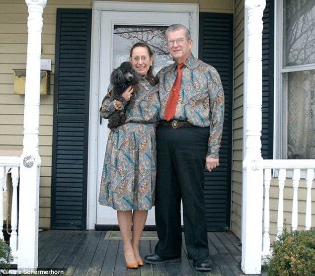 Meet the couple who have been dressing in matching outfits for the past 33 YEARS