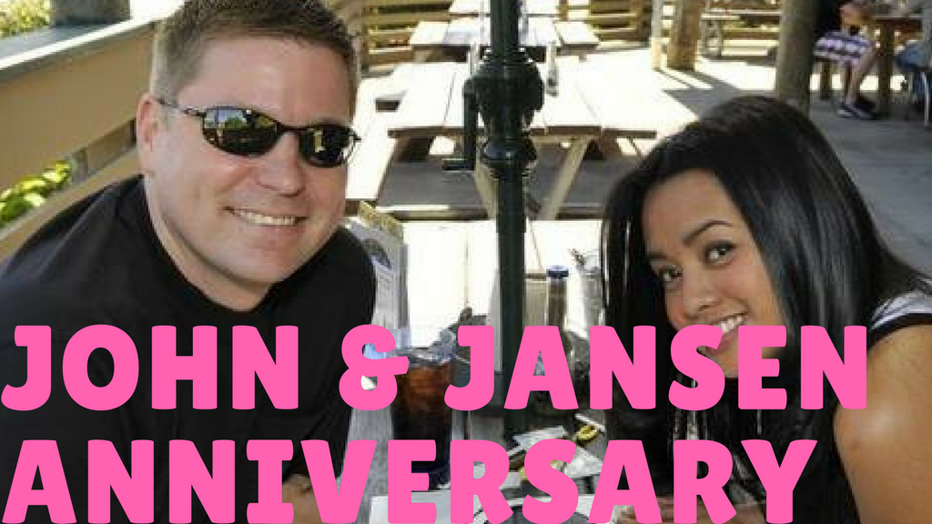 AWESOME: Wife sends her husband special wedding anniversary greetings from all around the world!