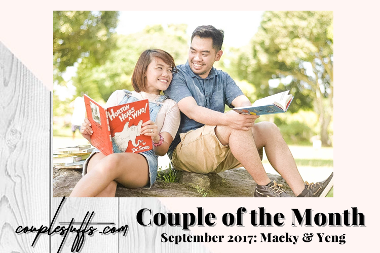 """IT STARTED WITH A TEXT"" <br> <font size=+2>Macky & Yeng's #MYforever Story </font>"