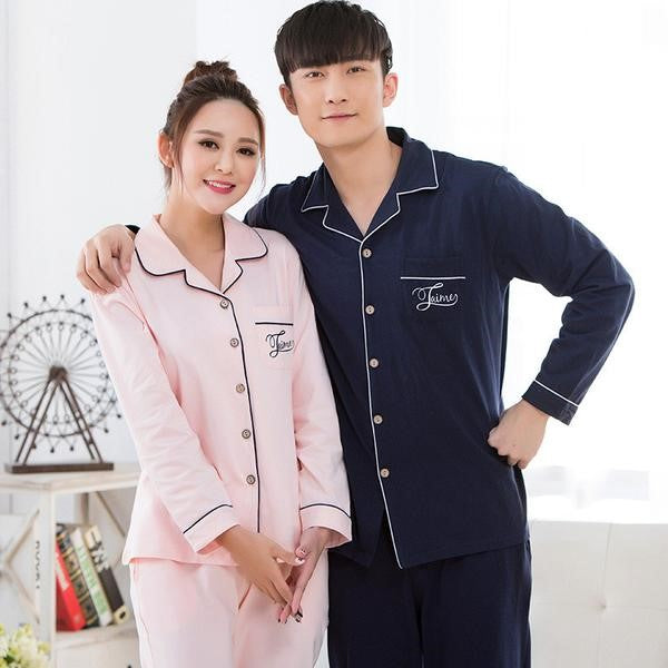 Pyjamas Couple Look