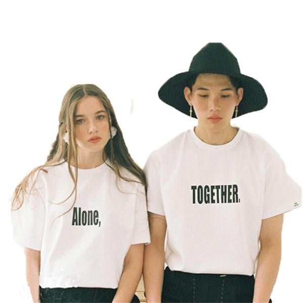 Alone Together Couple Shirt