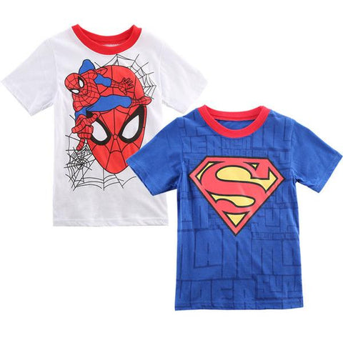 Superman Spider-man Shirt