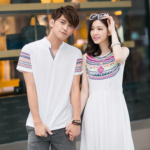 couple matching fashion