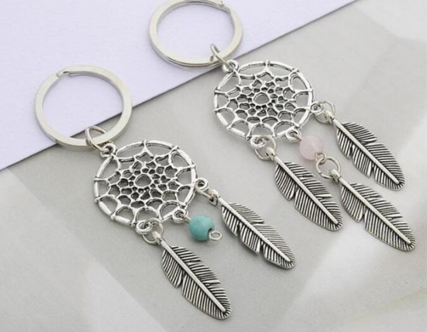 Dreamcatcher Couple Keychain