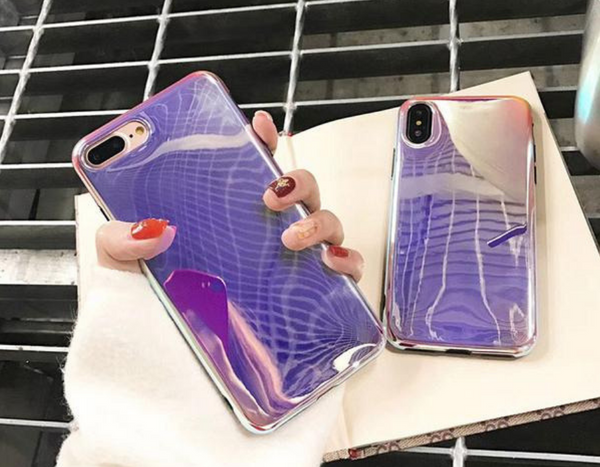 Glossy Blu-ray Couple Phone Case