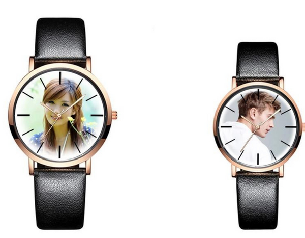 Personalised Photo Wristwatch Custom Design