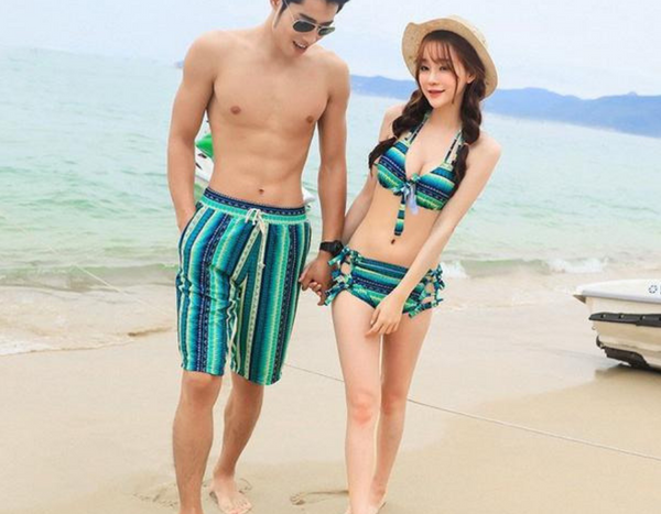 Bohemian Couple Swimwear