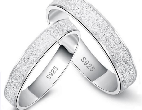 Couple Ring No Change Colour Platinum Plated  Original Silver 925 *SPECIAL INTRODUCTORY PRICE* $9.95!