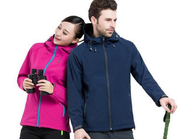 Camping and Hiking Couple Jackets