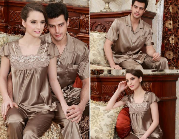 Deluxe Couple Pajamas