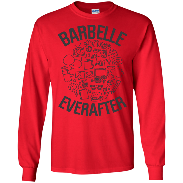 BarBelle EverAfter Sleeve Shirt Mini Icons Design