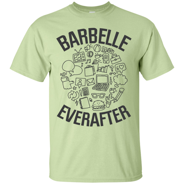 BarBelle EverAfter Cotton T-Shirt Mini Icon Design