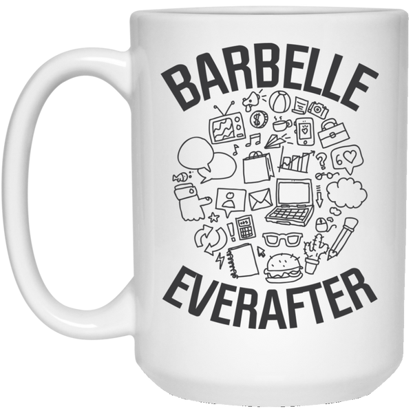 BarBelle EverAfter™ 21504 15 oz. White Mug