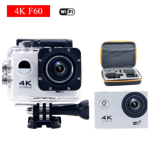 gopro hero 4 style  F60 WiFi Action camera 1080P extreme mini cam Helmet Diving cam Underwater go waterproof pro sport camera