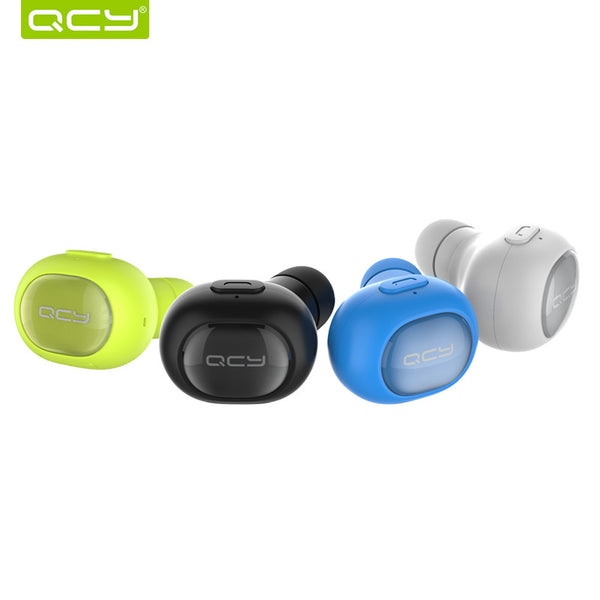 Couple Gadgets QCY Wireless Headphone Bluetooth 4.1 Earbud Noise Cancelling/Mic for iPhone7/Android