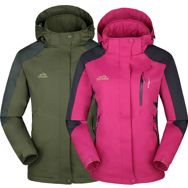 Camping Adventure Waterproof Couple Jackets