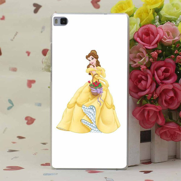Beauty and the Beast Collection Hard Transparent Case for Huawei Lite Plus Honor