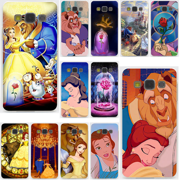 Beauty and the Beast Collection Hard Case Transparent for Galaxy & Note & Prime