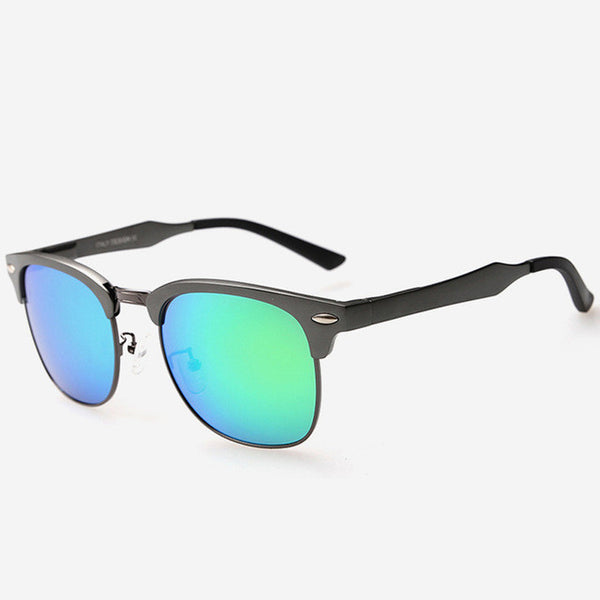Couple Sunglasses Polarized Driver Brand Designer AL-MG for Male/Ladies