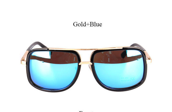 Flat Top Hot Square Sunglasses Men Women Luxury Brand Design Couple Lady Celebrity Brad Pitt Super star Eyewear Sun Glasses
