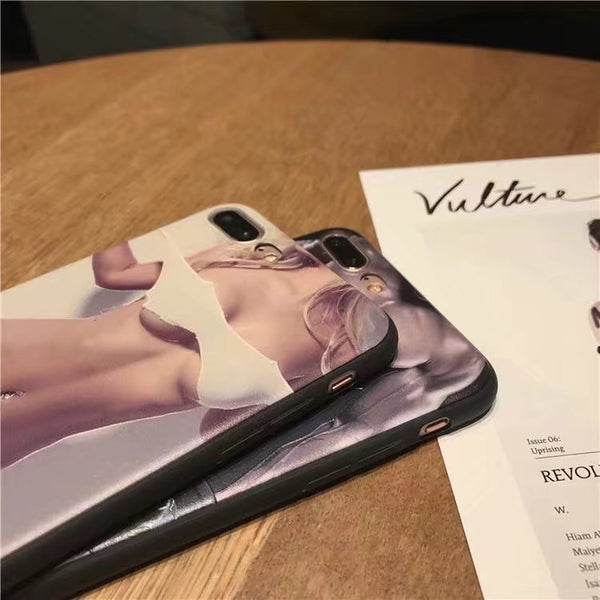 Sexy Man and Woman Couple Phone Case
