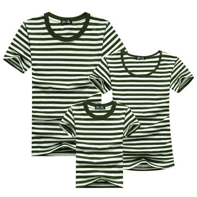 1pc Family Matching Baby And Mother Matching Clothes Solid Short Sleeve Couple T Shirt Bambino E La Madre Vestiti Di Corrisponde - CoupleStuffs.com - Couple's Super Shop for Stuffs!