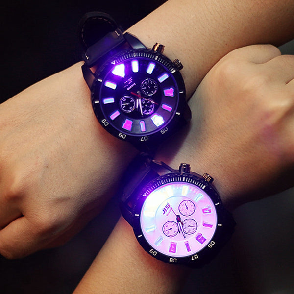 LED Glow in the Dark Couple Watch