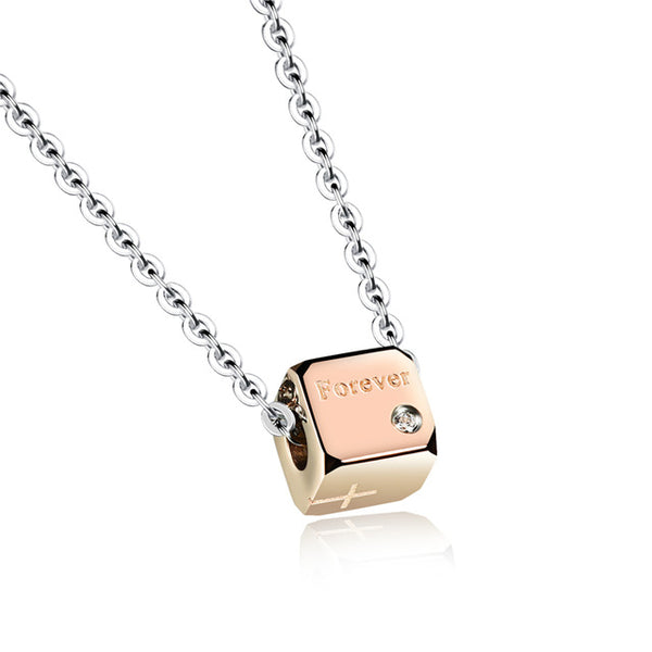 Forever Dice Couple Necklace