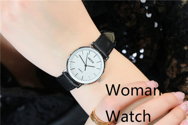 Julianna Leather Couple Watches