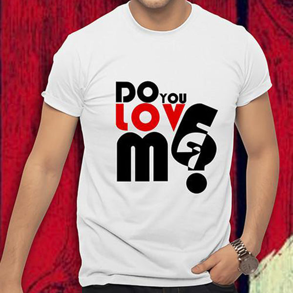 """Do You Love Me Yes I Do"" Couple Shirt"