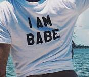 If Lost Return To Babe I Am Babe Couple Shirt
