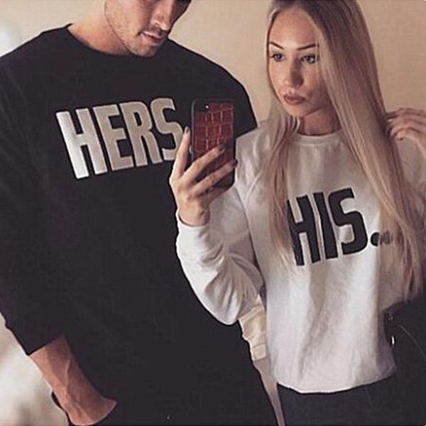 His Hers Couple Sweaters