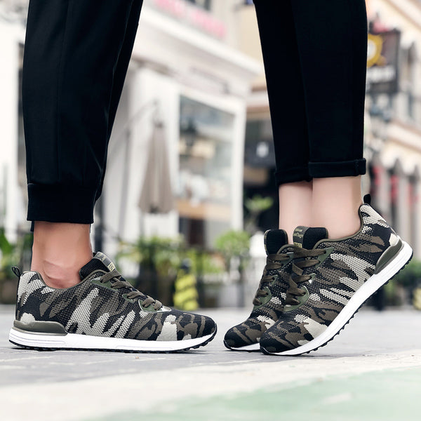 Camouflage Running Couple Shoes