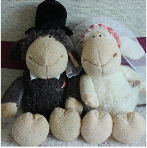 Couple Dolls NICI couple sheeps